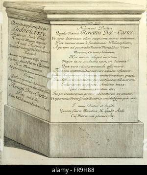 La Vie de monsieur Des-Cartes (1691)