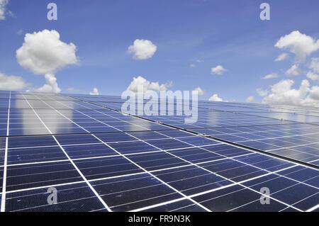 Solar Energy Signs - Stock Photo