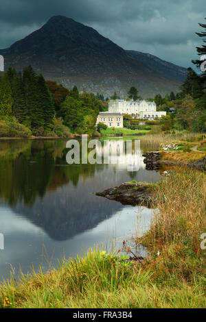 Ballynahinch estate in Connemara region; County Galway, Ireland - Stock Photo