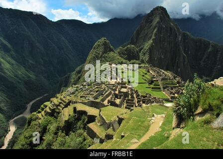 Machu Picchu, Cusco, Peru - Stock Photo