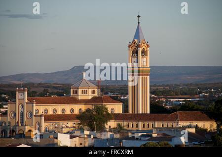 Church of Sao Francisco de Assis city of Juazeiro - Araripe Incidental Stock Photo