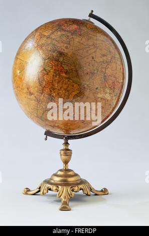 Antique globe. - Stock Photo
