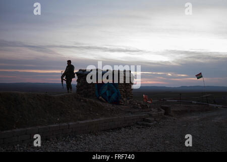 Barzanke in Iraqi kurdistan -  11/02/2016  -  Iraq / Iraqi Kurdistan / Barzanke  -  Barzanke looks more like an - Stock Photo