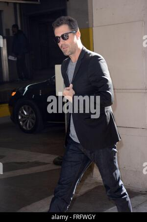 New York, USA. 22nd Mar, 2016. Bryan Sipe out and about for Celebrity Candids - TUE, , New York, NY March 22, 2016. - Stock Photo