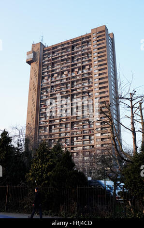 High rise council flats in Westbourne Green and Ladbroke Grove area of London UK - Stock Photo