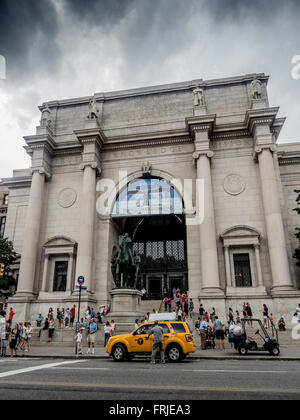 American Museum of Natural History, Central Park West at 79th Street New York, USA. - Stock Photo