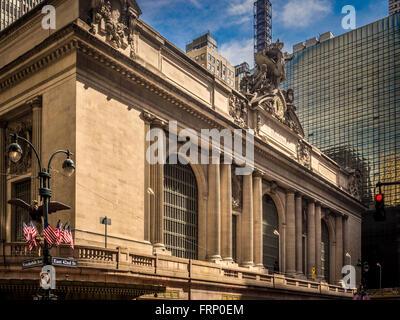 Grand Central Terminal train station, New York City, USA. - Stock Photo