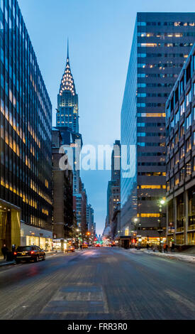 The Chrysler Building, East Side of Midtown Manhattan, New York City, USA. - Stock Photo