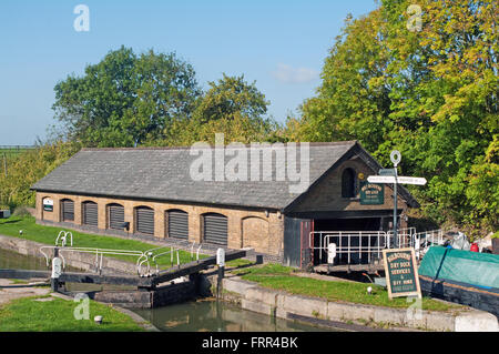 Bulbourne, Hertfordshire, Grand Union Canal, Dry Dock - Stock Photo