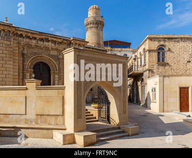 Old mosque in the fort in Baku.Azerbaijan - Stock Photo