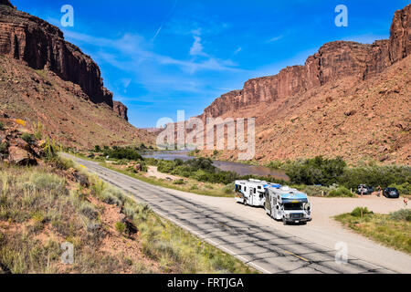 Colorado River Highway Moab Utah USA Stock Photo Royalty - Ut usa
