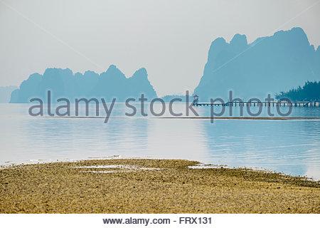 Bai Tu Long Bay, Cai Rong, Quang Ninh Province, Vietnam - Stock Photo