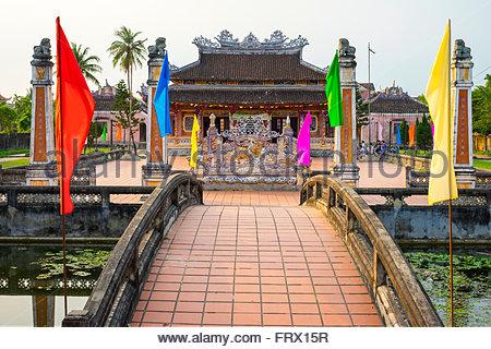 Confucian Temple, Hoi An, Quang Nam Province, Vietnam - Stock Photo