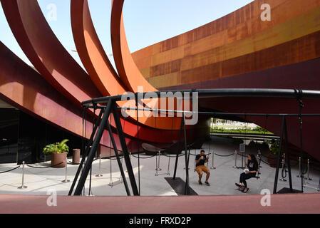 Design Museum in Holon near Tel Aviv, Israel - Stock Photo