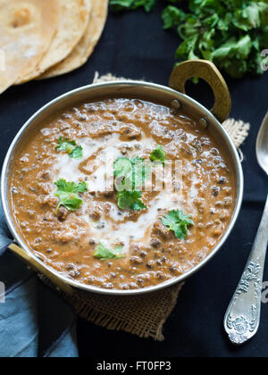 Dal makhani ('Buttery Lentil'), a popular dish originating from the Punjab region of India and Pakistan. - Stock Photo