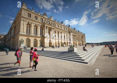 Palace of Versailles, Versailles near Paris, France - Stock Photo