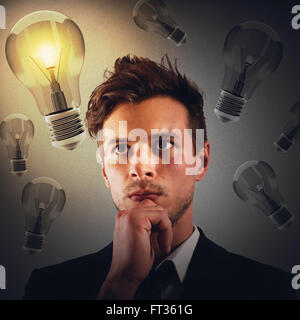 New business idea - Stock Photo