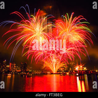 Fireworks, 4th of July - Stock Photo