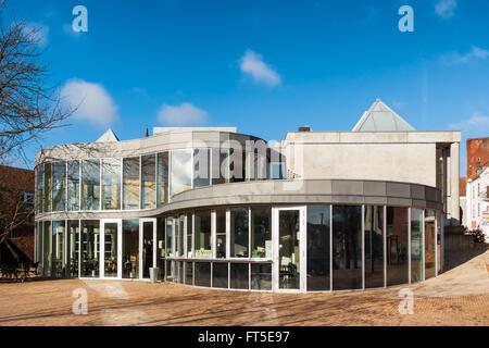 Filosoffen contemporary art gallery in Odense, Denmark - Stock Photo