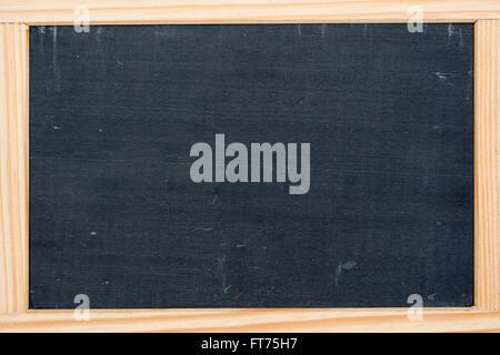 Vintage slate chalk board isolated on white Stock Photo: 43194268 ...