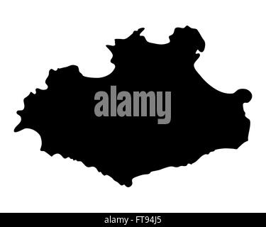 Map of Sao Vicente - Stock Photo