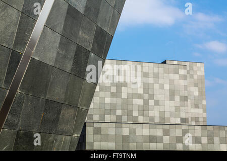 Art Museum, Van Abbemuseum, for modern and contemporary art, in Eindhoven, The Netherlands, - Stock Photo