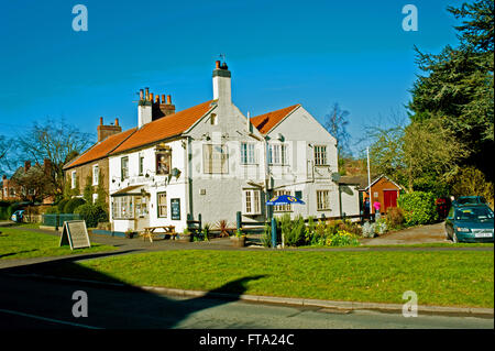 The Lord Collingwood in Upper Poppleton, Yorkshire - Stock Photo
