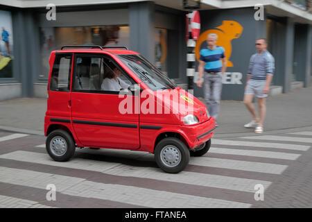 Micro Mini Disabled Wheelchair Car Amsterdam Holland Netherla