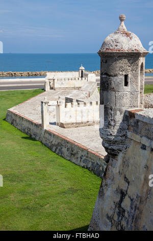 The Breakwater of Santa Catalina, 'The Pincer' - Stock Photo
