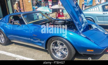Chevrolet Corvette Stingray At The Huntington Beach Car Show March - Car show huntington beach
