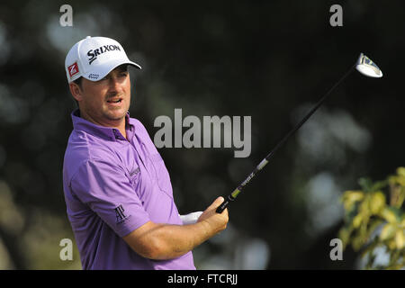 Palm Beach Gardens, Fla, USA. 3rd Mar, 2012. Graeme McDowell during the third round of the Honda Classic at PGA - Stock Photo