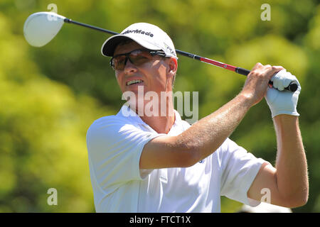Palm Harbor, Fla, USA. 17th Mar, 2012. John Senden during the third round of the Transitions Chapionship on the - Stock Photo