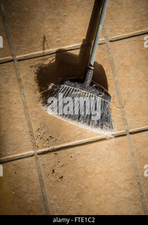 Broom And Dirt Stock Photo Royalty Free Image 22047483