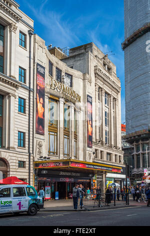 The Dominion Theatre, Tottenham Court Road, London - Stock Photo