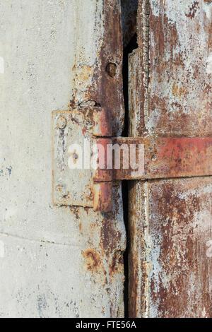Rusty Metal Door rusty metal door hinge stock photo, royalty free image: 17563964