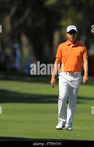 Palm Harbor, Fla, USA. 17th Mar, 2012. Sang-Moon Bae during the third round of the Transitions Chapionship on the - Stock Photo