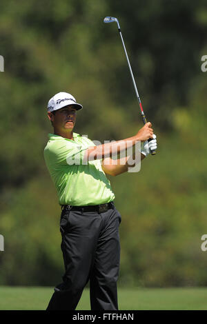 Palm Harbor, Fla, USA. 17th Mar, 2012. Chez Reavie during the third round of the Transitions Chapionship on the - Stock Photo
