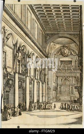 Orazion funerale per la morte del sereniss. Ferdinando II, granduca di Toscana - nell' esequie celebrate in Firenze - Stock Photo