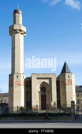 25/03/16, Edinburgh Central Mosque,. Mosque of the Custodian of the Two Holy Mosques & Islamic Centre of Edinburgh, - Stock Photo