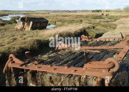 Wallasea island Essex UK HOMER SYKES - Stock Photo