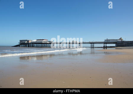 Cromer Pier, Norfolk coastline, England, United Kingdom - Stock Photo