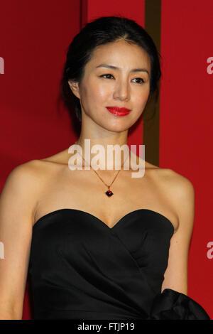 File photo showing Japanese actress Haruka Igawa at the
