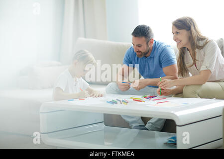 Spending time at home - Stock Photo