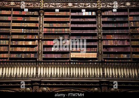 ... Royal Portuguese Reading Cabinet City Of Rio De Janeiro   Stock Photo