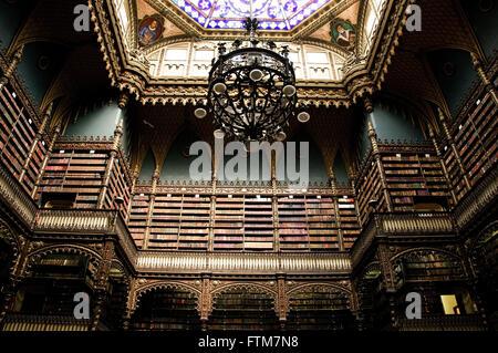 Royal Portuguese Reading Cabinet City Of Rio De Janeiro   Stock Photo