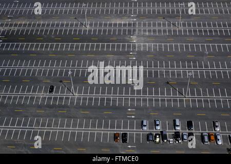 Parking Tower Digital TV also called Flor do Cerrado - Stock Photo
