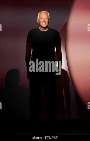 Emporio Armani Milan Ready to Wear Spring Summer Model ...