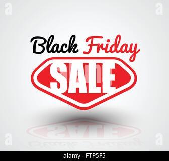 Black Friday Sale banner super man style. - Stock Photo