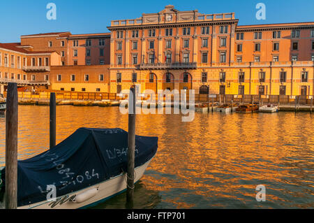 Venice,capital of Nothern Italy Veneto region,is built on small islands in the Adriatic sea. - Stock Photo