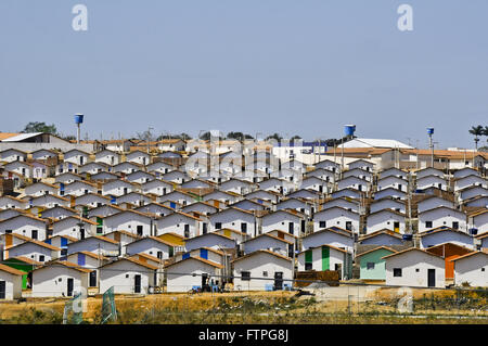 Lake Breeze Residential complex on the outskirts of the city - region of the rough - Stock Photo